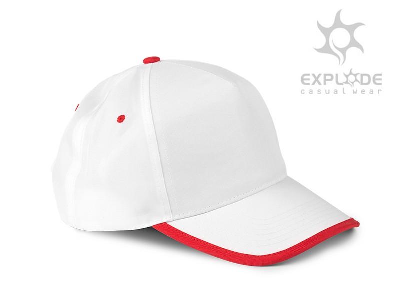 reklamni-materijal-kacketi-five-boja-crvena