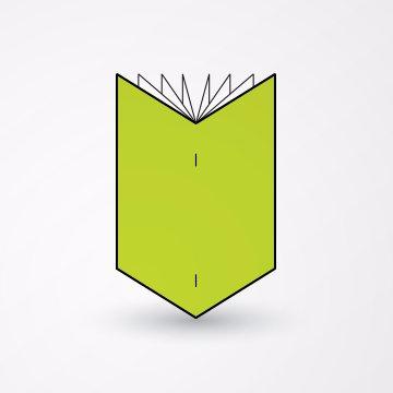 Povezivanje brošura klamovanjem -  heftanjem