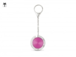 valeria-stilizovani-drzac-za-torbe-sa-lancicem-roze