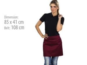 reklamni materijal-radna oprema-MARTINI-boja bordo