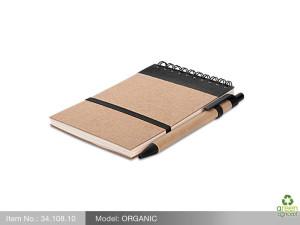 reklamni materijal-eko poklon-ORGANIC-boja crna