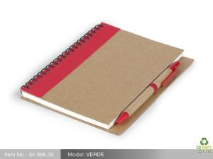 reklamni materijal-eko poklon-VERDE-boja crvena