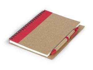 reklamni materijal - kancelarijski pribor - VERDE - boja crvena