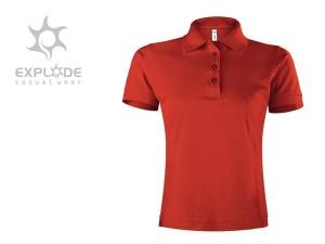reklamni materijal-polo majice-TOP GUN LADY-boja crvena