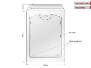 reklamni materijal-unisex majice-POLY BAG 30 X 40
