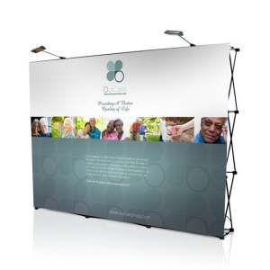 Backboard ZAKRIVLJEN 280x230cm - 4 polja SWA TIM-reklamni back board