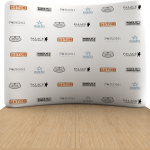 Backboard ZAKRIVLJEN 344x230cm - 5 polja SWA TIM-reklamni back board