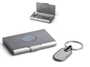 reklamni materijal-card holder-GRAY-boja tamno-siva