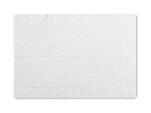 reklamni materijal - kancelarijski pribor - PUZZLE A4 - boja bela