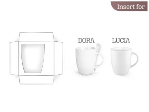 reklamni materijal - keramika i staklo - B1 - boja bela