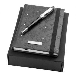 reklamni materijal-poklon setovi-rokovnik-signora-boja crna
