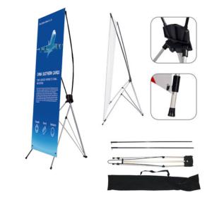 reklamni materijal-X BANER 60 X 160 cm-rasklop