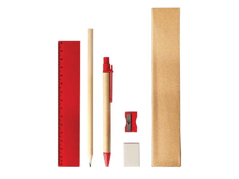reklamni-materijal-swa-tim-class-set-za-pisanje-crtanje-boja-crvena