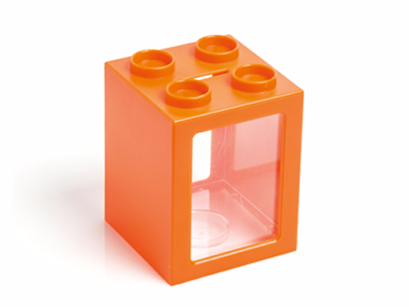 fitter-plasticna-kasica-za-novac-narandzasta