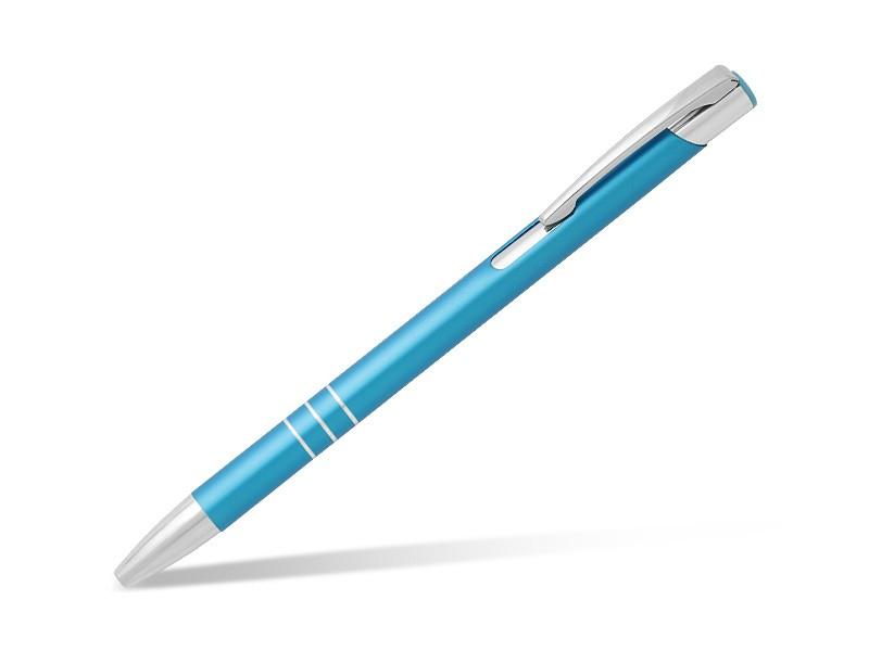 reklamni-materijal-metalne-olovke-oggi-slim-boja-tirkizno-plava