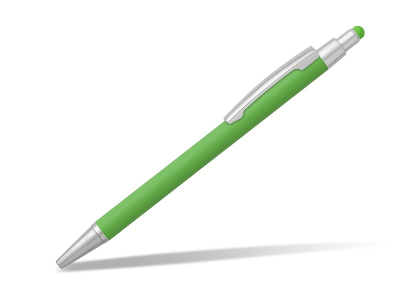 reklamni-materijal-metalne-olovke-platinum-touch-boja-svetlo-zelena