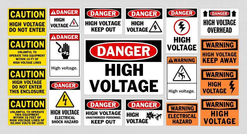 Panneaux - Danger High Voltage [Converted]