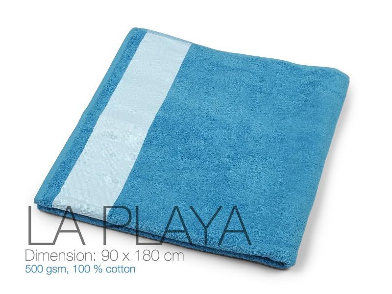 reklamni-materijal-peskiri-la-playa-boja-rojal-plava