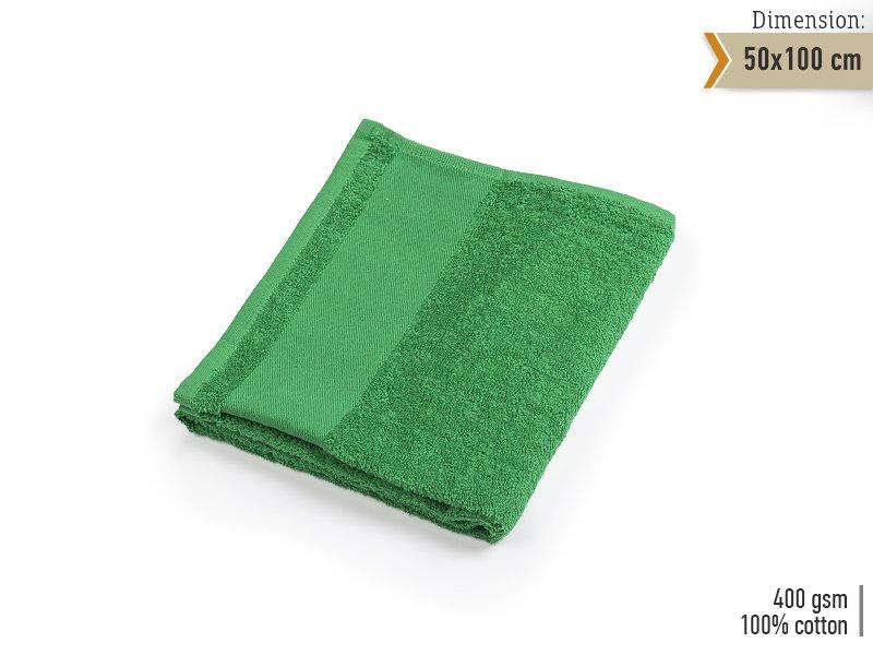 reklamni-materijal-swa-tim-reklamni-tekstil-peskir-AQUA-50-boja-kelly-zelena