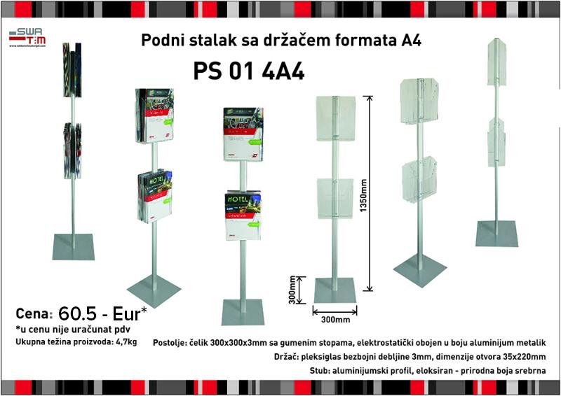 Podni stalci sa držačem kataloga - brošura