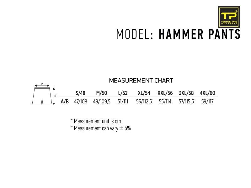 reklamni-materijal-radna-oprema-hammer-pants-velicine