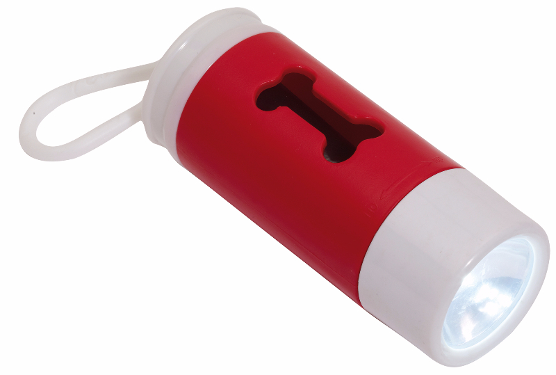 reklamni-materijal-promo-plastika-dogs-helper-led-lampa-sa-otvorom-za-kese-crvena