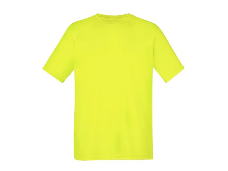 reklamni-materijal-unisex-majice-record-boja-neon-zuta