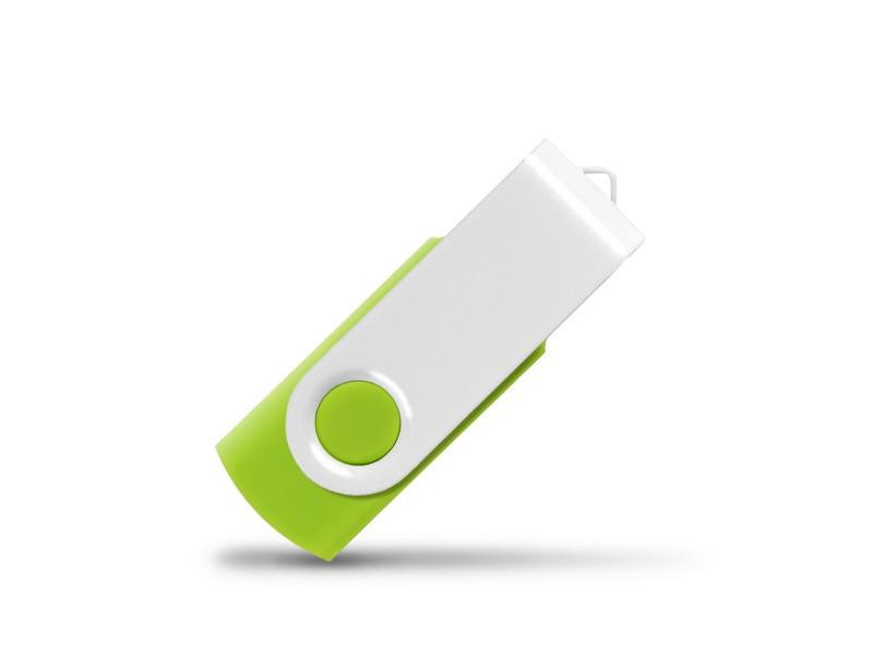 reklamni-materijal-usb-flash-memorija-smart-white-boja-svetlo-zelena