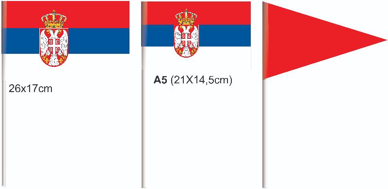 Reklamne papirne zastavice
